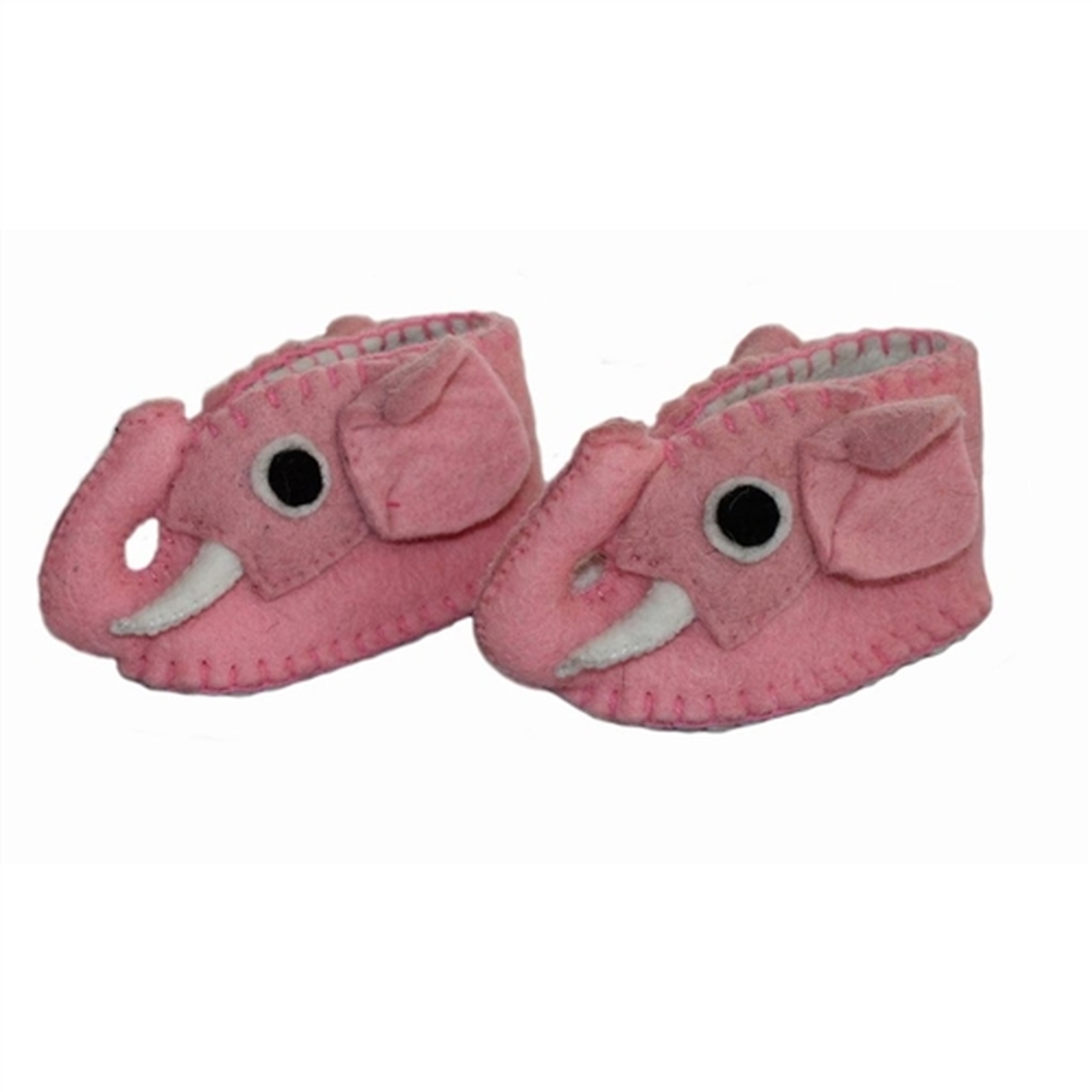 Elephant Baby Booties - PInk