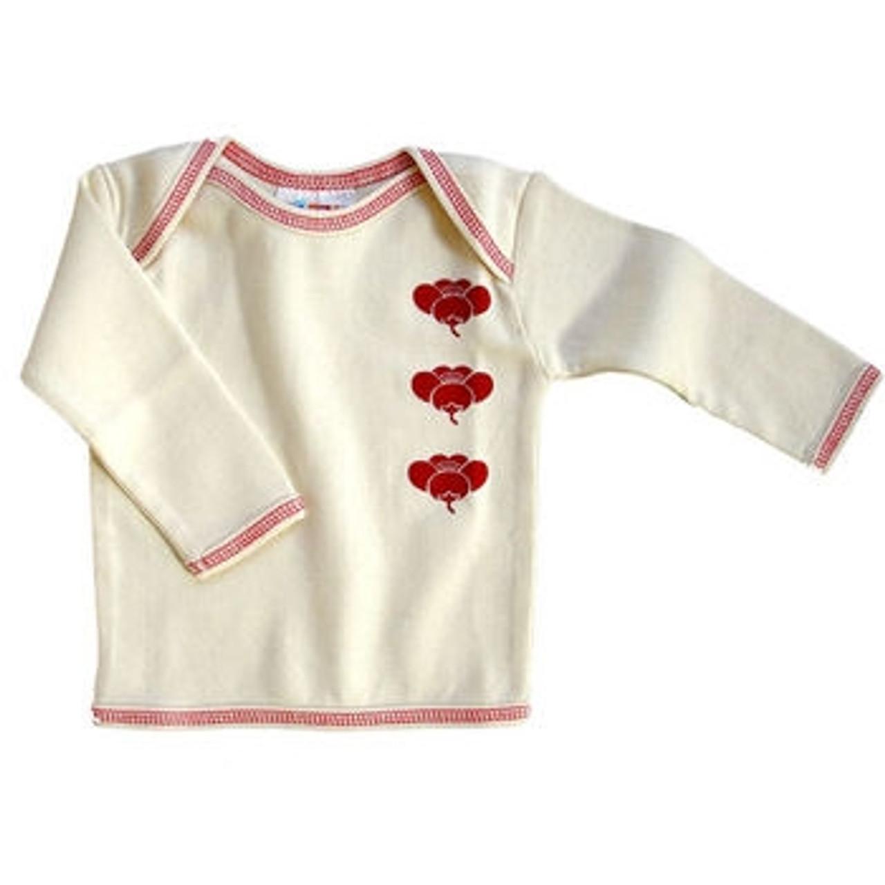 Organic Baby Clothes - Plum Tee