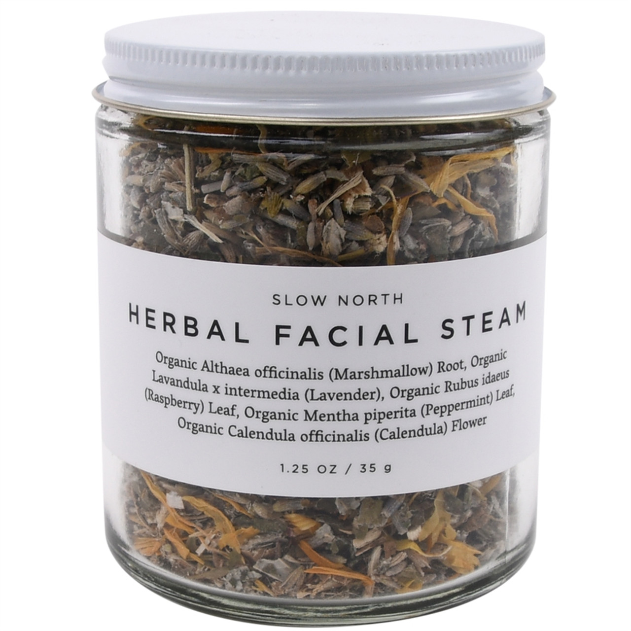 Organic Herbal Facial Steam - Calm & Soothe