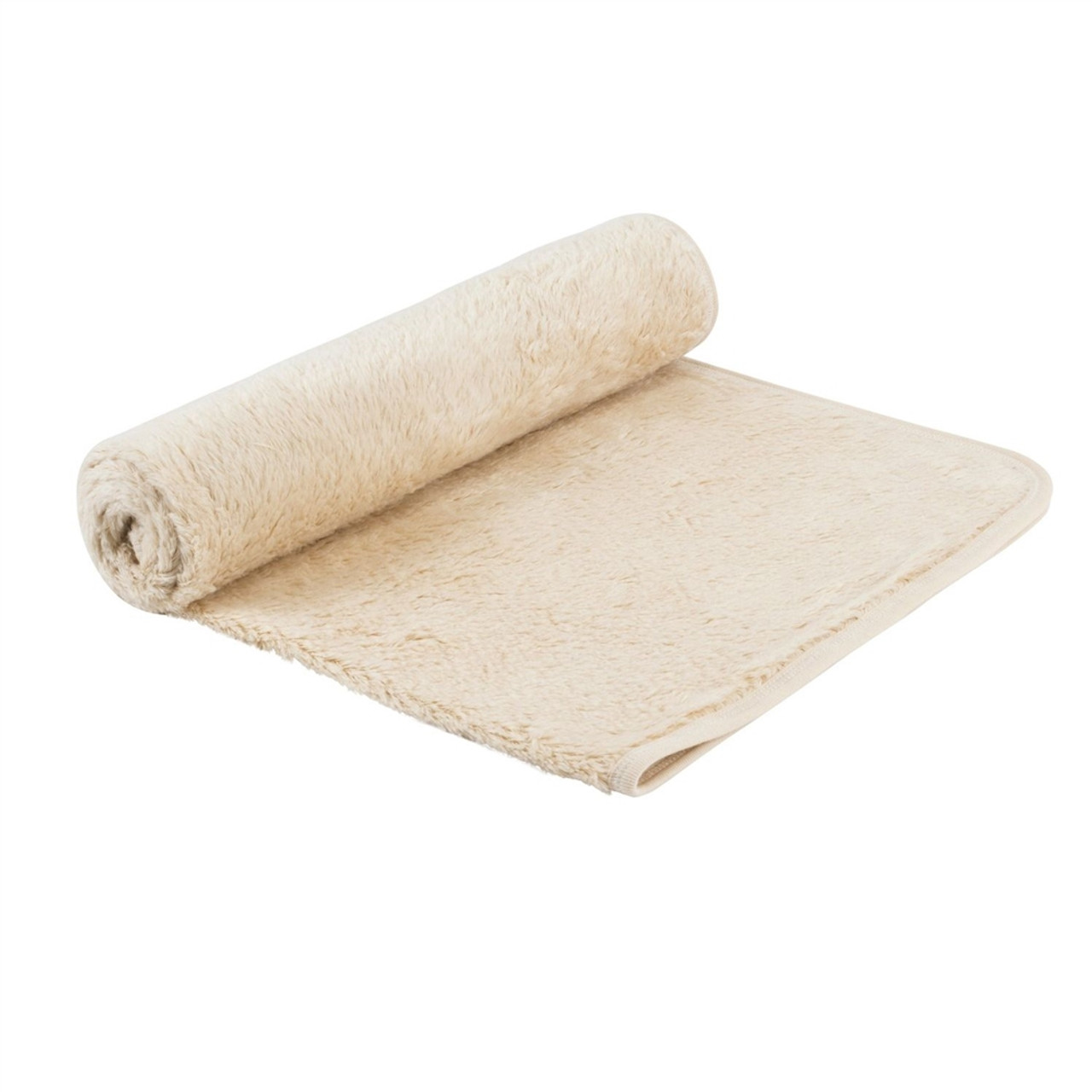 "Organic Baby Blanket - Faux Sherpa, 30""x40"""