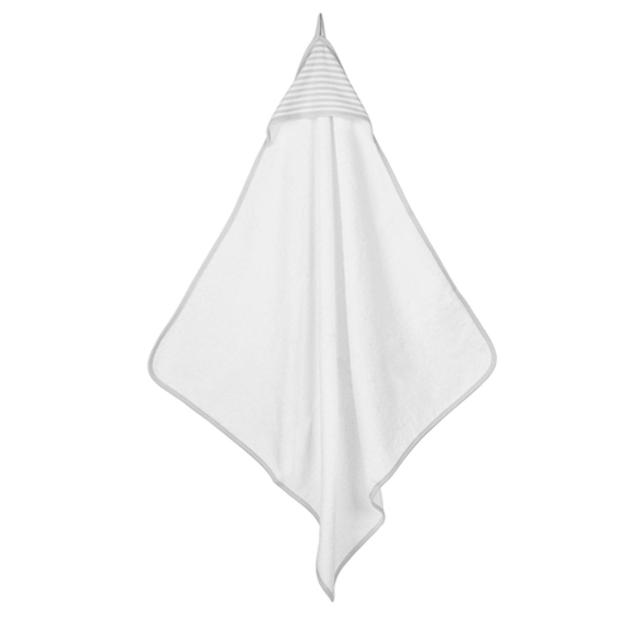 Hooded Organic Baby Towel - Gray