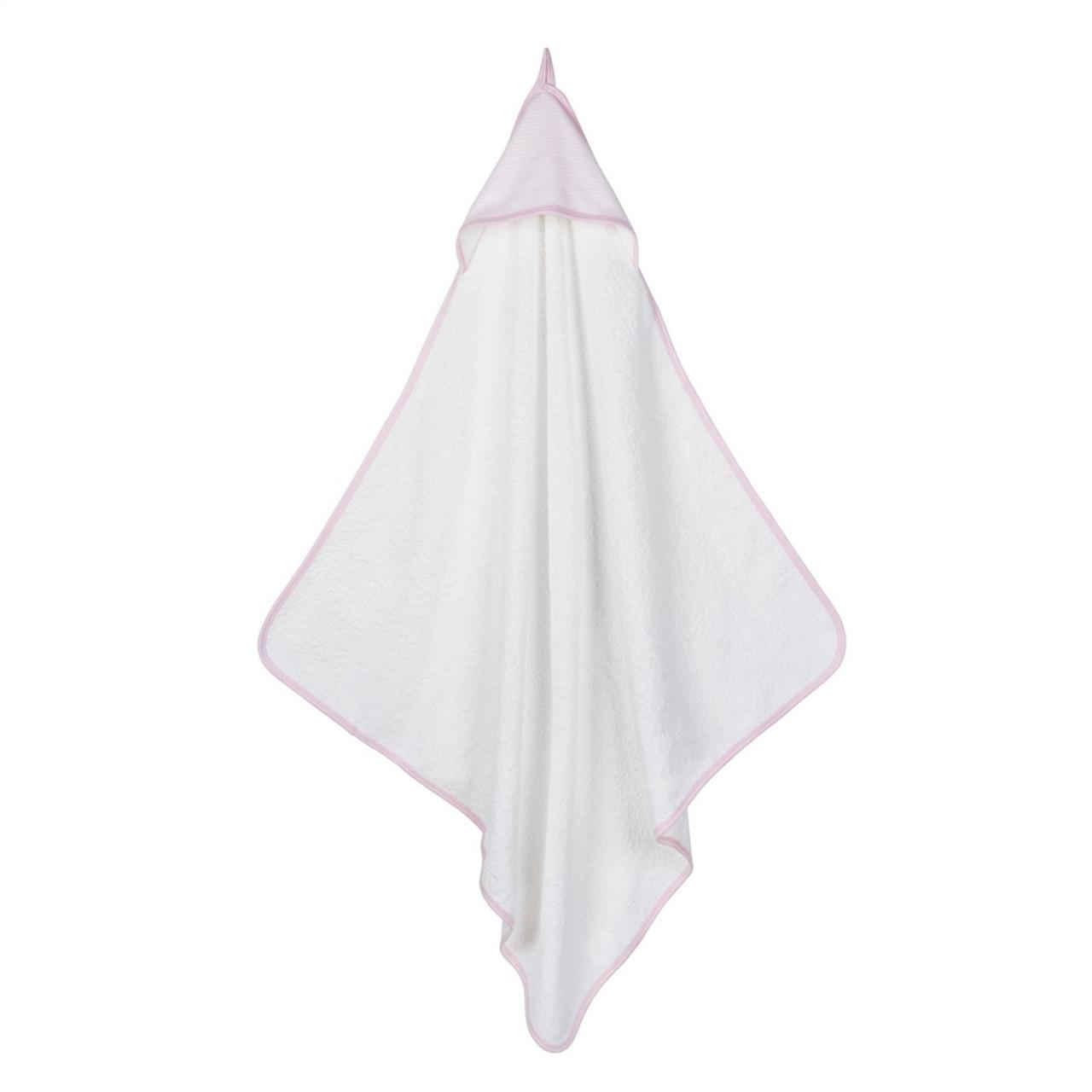 Hooded Organic Baby Towel - Pink