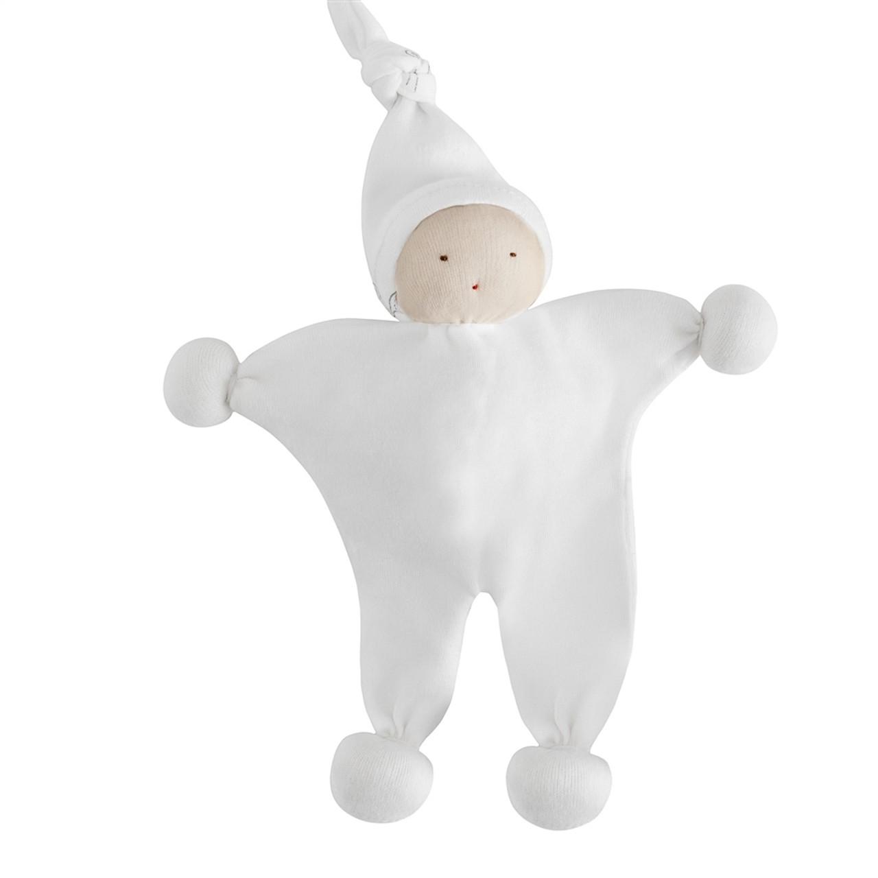 Organic Lovey Toy - White