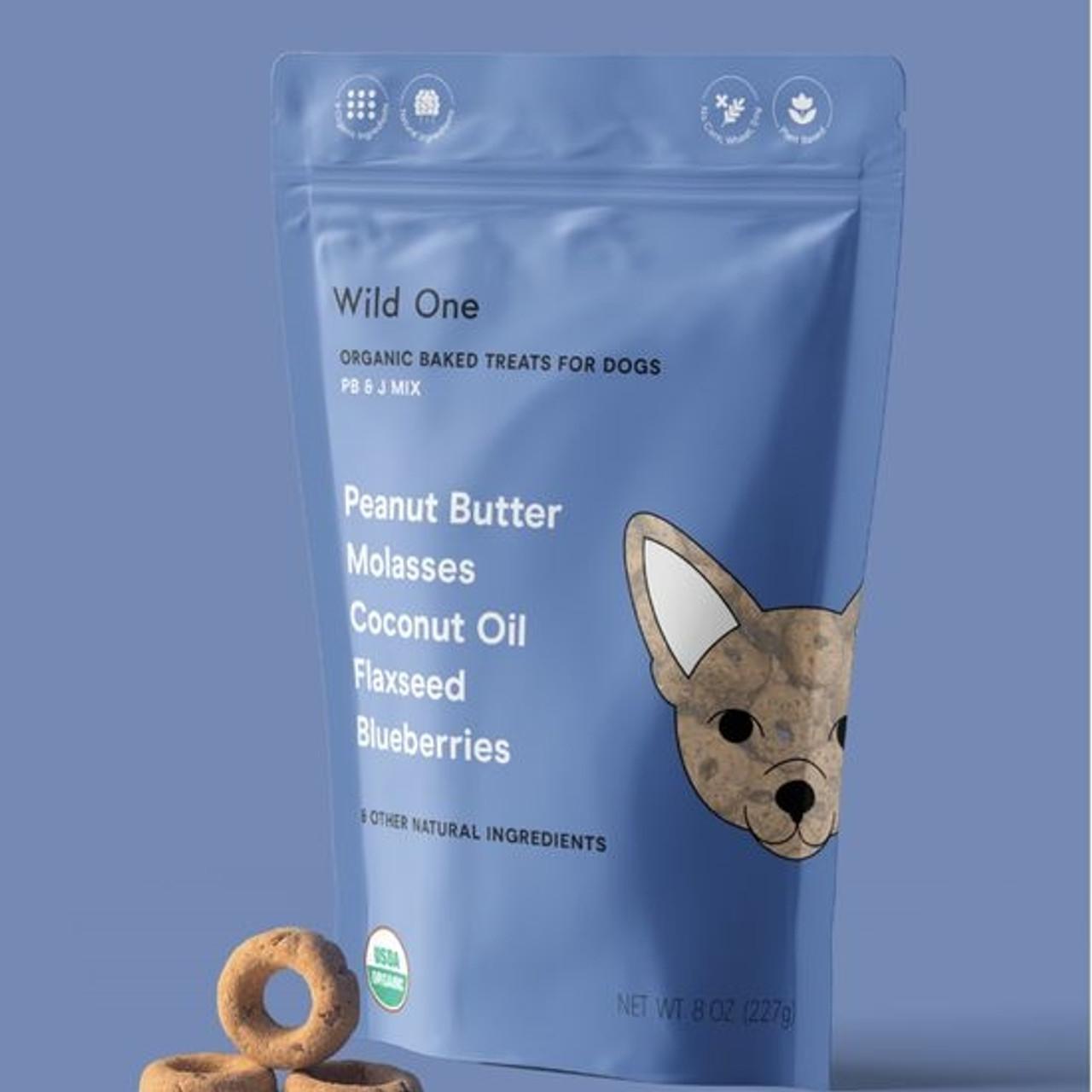 Organic Baked Dog Treats - PB&J