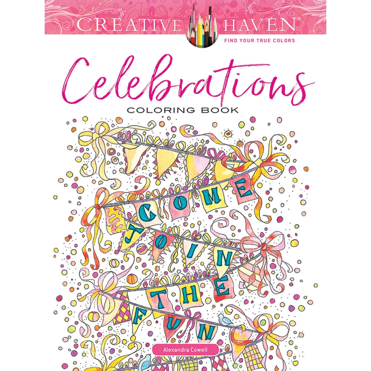 Coloring Book for Adults and Kids - Celebrate