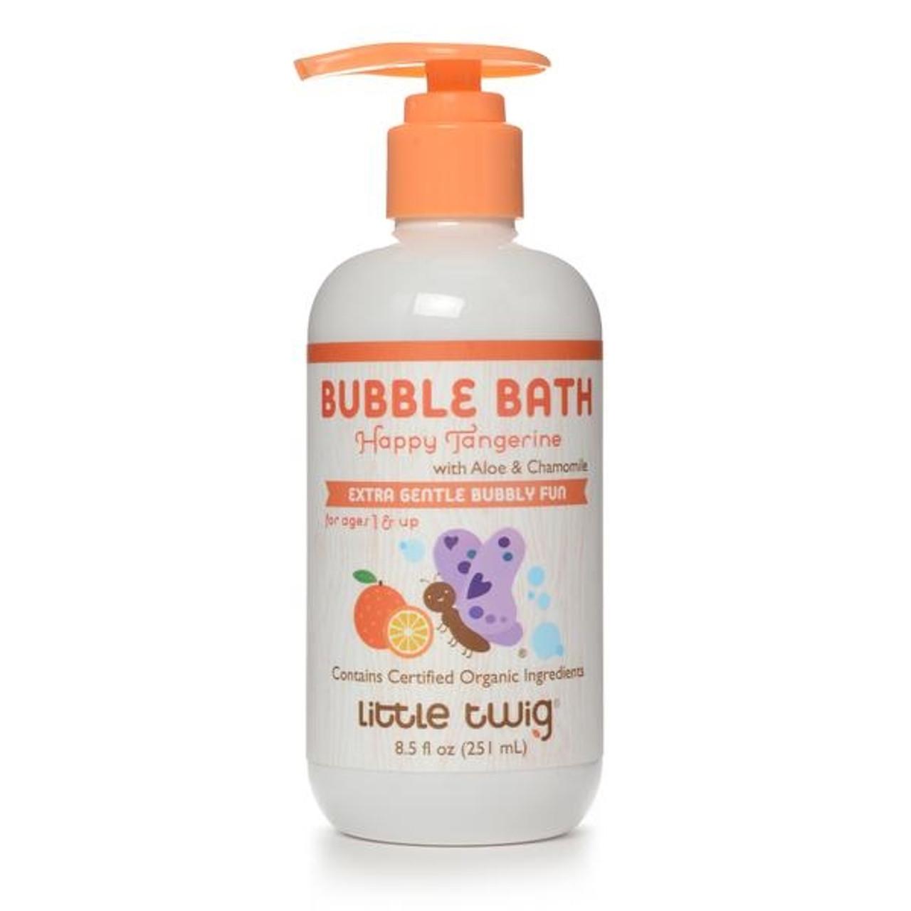 Little Twig Tangerine Organic Bubble Bath 8.5 oz