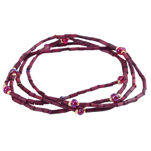 Zulugrass by Leakey Collection - Burgundy