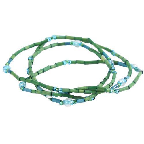 African Jewelry - Zulugrass Grass Green