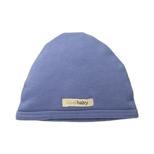Organic Cotton Baby Cap- Blue, 0-3m