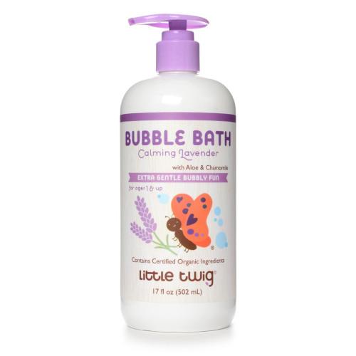 Little Twig Organics Bubble Bath - Calming Organic Lavender - 8.5 Ounce