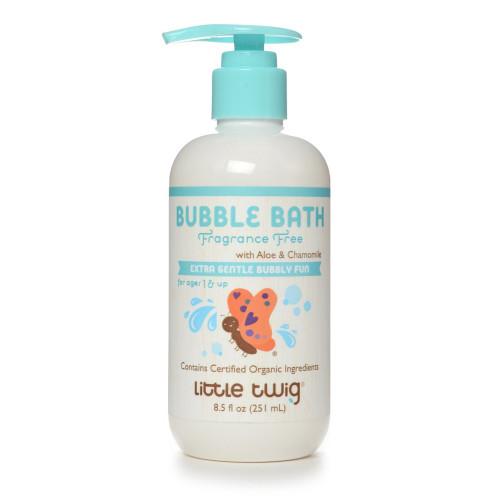 Little Twig Organics Bubble Bath - Extra Mild Unscented 8.5 ounces