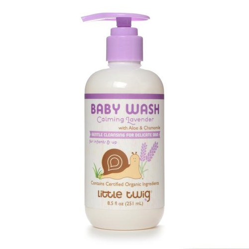 Little Twig Organics Baby Wash - Calming Lavender 8.5oz
