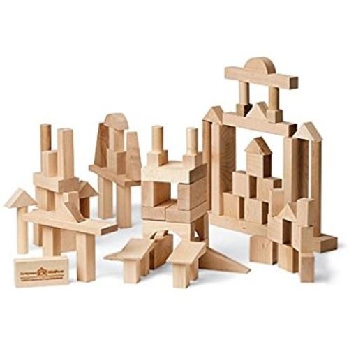 Classic Wooden Blocks - 78 Pieces