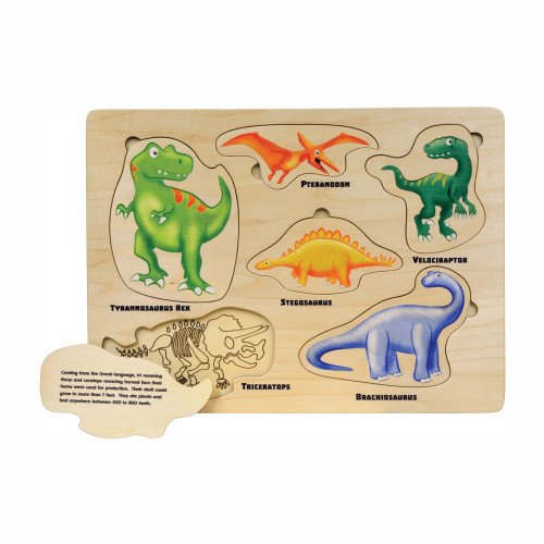 Toys Made in the USA - Puzzle - Dinosaurs
