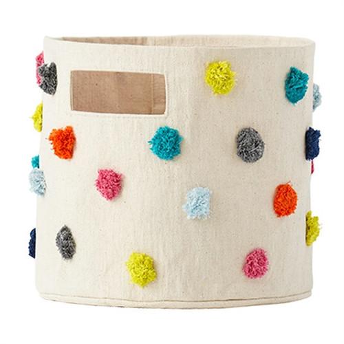 Make Your Own Gift Basket - Multicolor Pom Pom