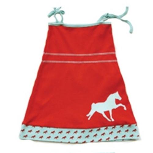 Organic Pony Dress - 4T