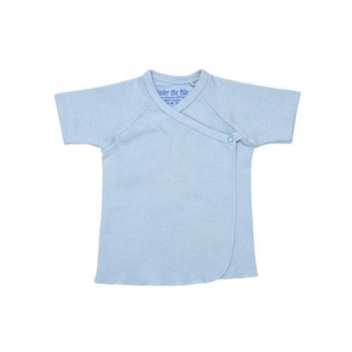 Organic Side Snap Tee Shirt - Nb-3m