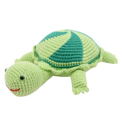 Organic Stuffed Turtle Toy - Small