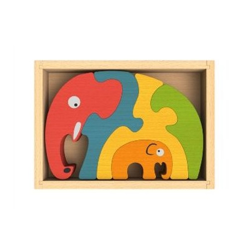 Elephant Gifts for Kids - Puzzle