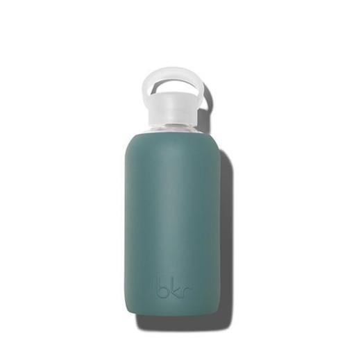 bkr Glass Water Bottle - Green 500ml