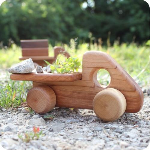 Flatbed Wooden Truck - Mini