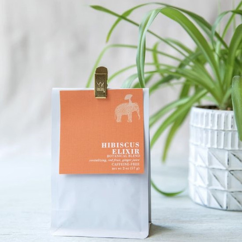 Organic Loose Leaf Tea - Hibiscus Elixir Blend
