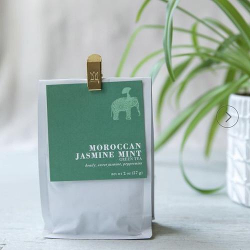 Organic Loose Leaf Tea - Moroccan Jasmine Mint