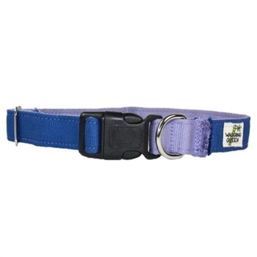 Bamboo Dog Collar - Lilac - Medium (14-19