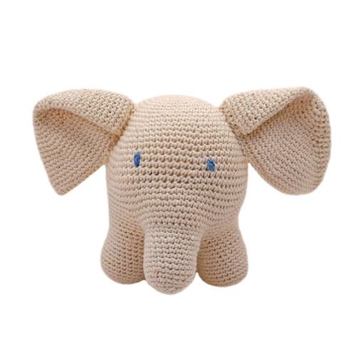 Organic Elephant Rattle Baby Toy - Parent