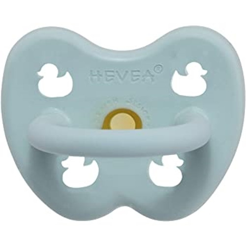 Natural Rubber Pacifier - Ortho, Baby Blue, 0-3M