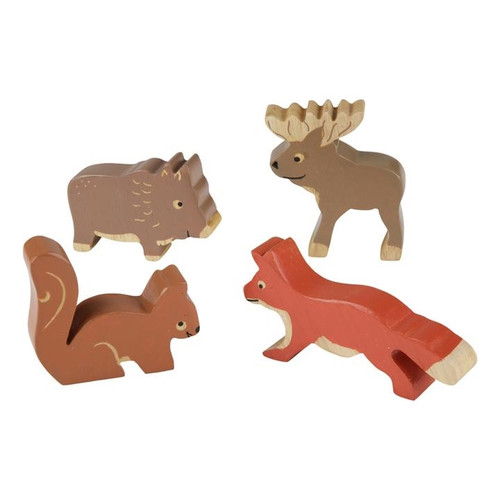 Handcrafted Forest Animals Set