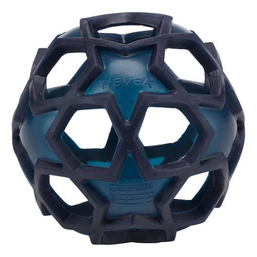 Natural Rubber Dog Toys - Stellar Ball Navy