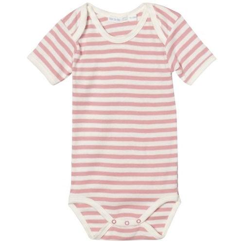 Pink & White Striped Onesie - 24 Months