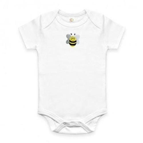 Organic Bee Onesie - 6-12 Months