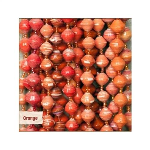 Bead for Life Sanyu Bracelet - Sold Individually - Orange