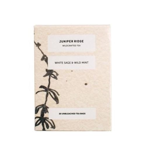 Juniper Ridge Organic Botanical Tea - White Sage & Wild Mint