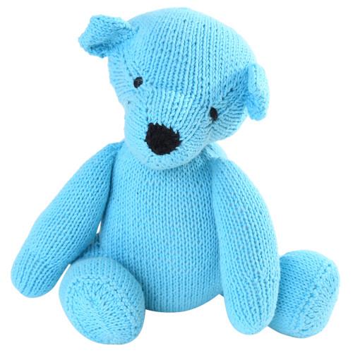 Organic Blue Teddy Bear - Skyler