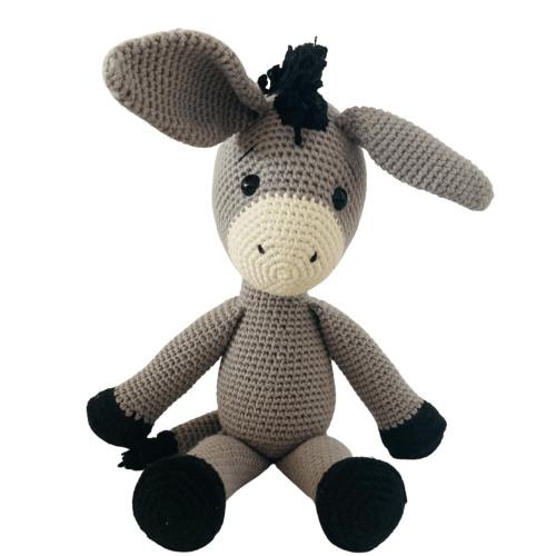 Organic Stuffed Donkey Toy