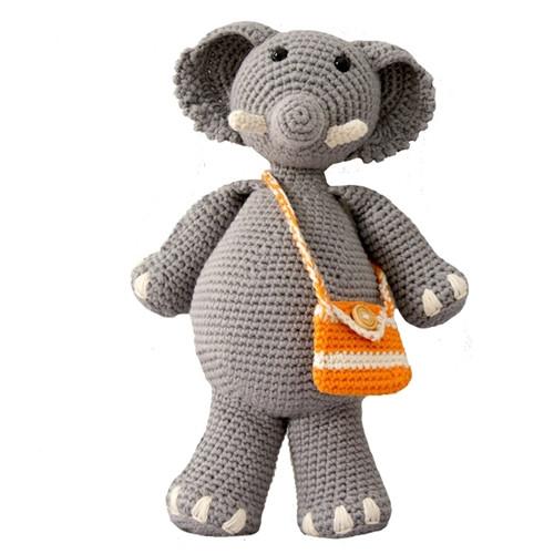 Organic Stuffed Toy Elephant