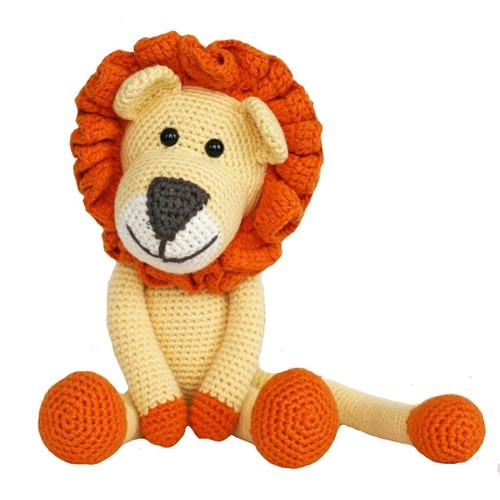 Organic Lion Toy - Stuffed Animal