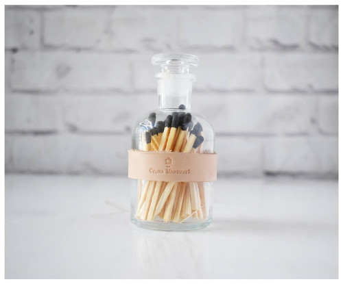 Colored Matches - Black