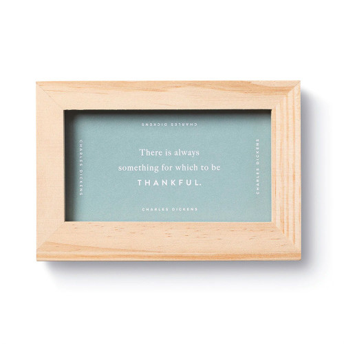 Weekly Inspirational Cards with Frame - Gratitude