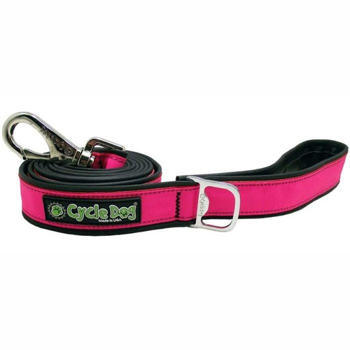 Reflective Leash with Bottle Opener - Pink
