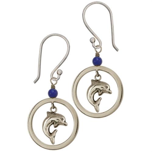 Dolphin Earrings - Fair Trade