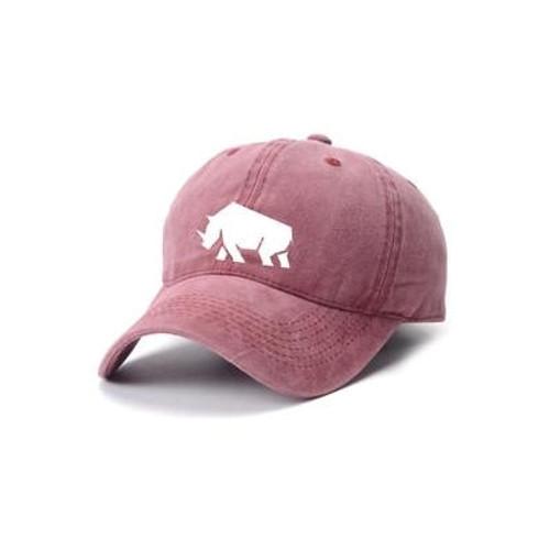 100% Cotton Hat - Rhino