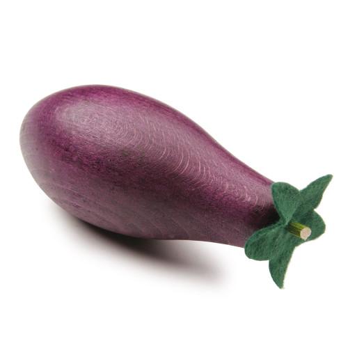 Wooden Play Food - Eggplant