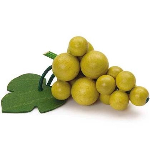 Wooden Play Food - Green Grapes
