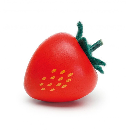 Wooden Play Food - Strawberry