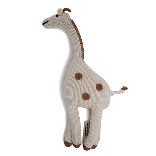 Organic Baby Toys - Giraffe Rattle