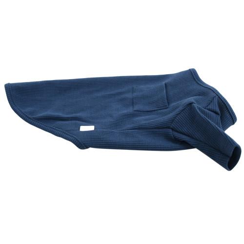 Organic Dog Clothes - Mid-Blue T-Shirt - Medium (12